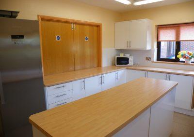 Main hall - kitchen
